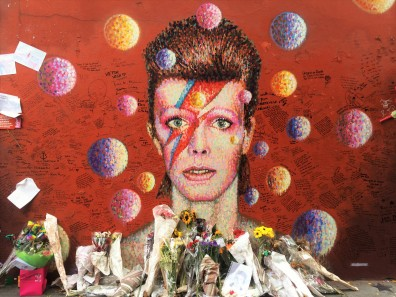 31. David Bowie Memorial, Tunstall Road