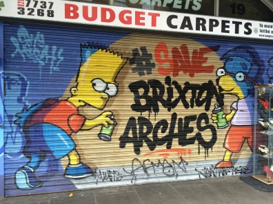 34. #SaveBrixtonArches, Atlantic Road