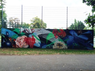 Tennis court, Belair Park